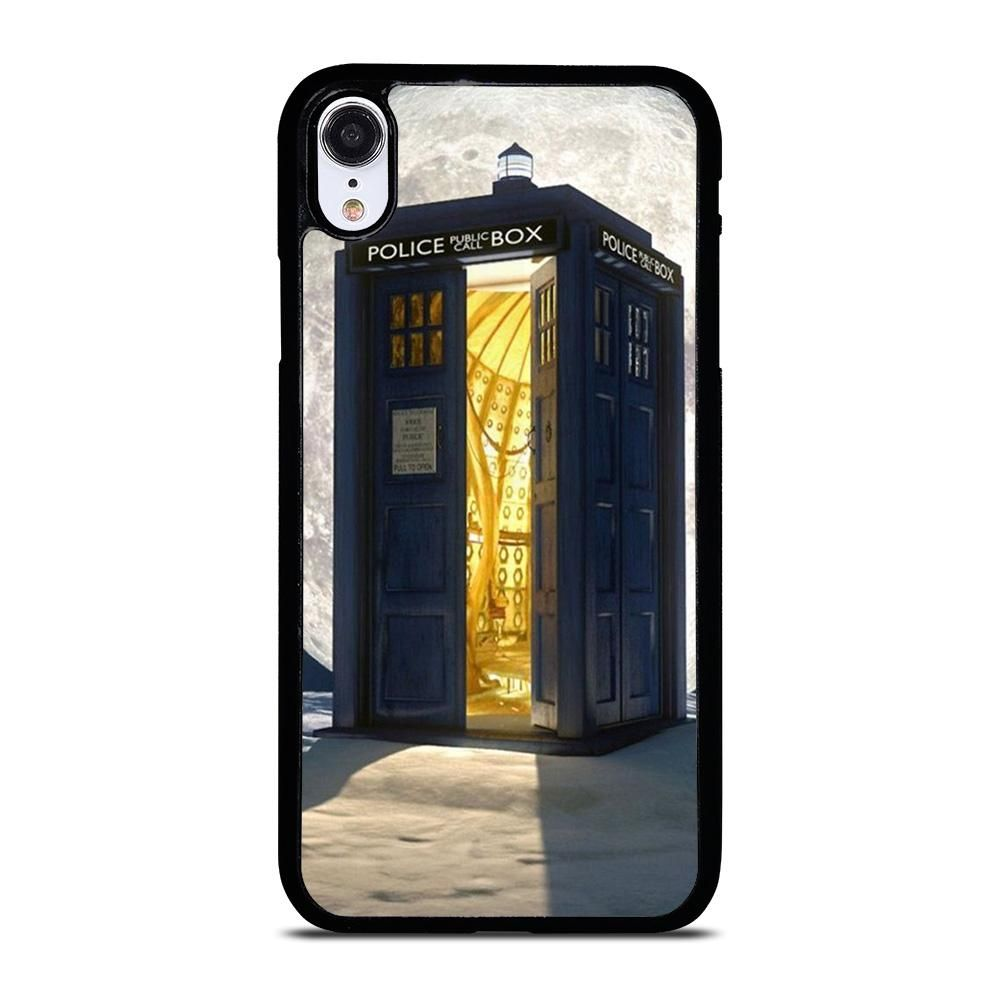 Dr who tardis box iphone xr case cover casesummer in