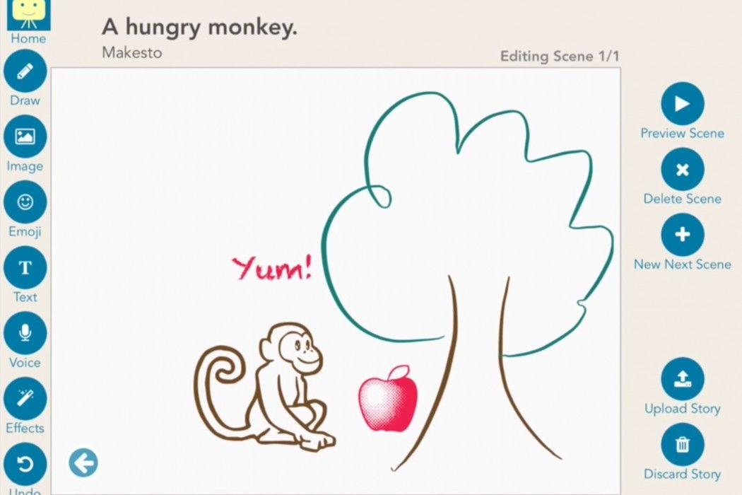 Makesto storytelling app lets kids' imaginations run wild