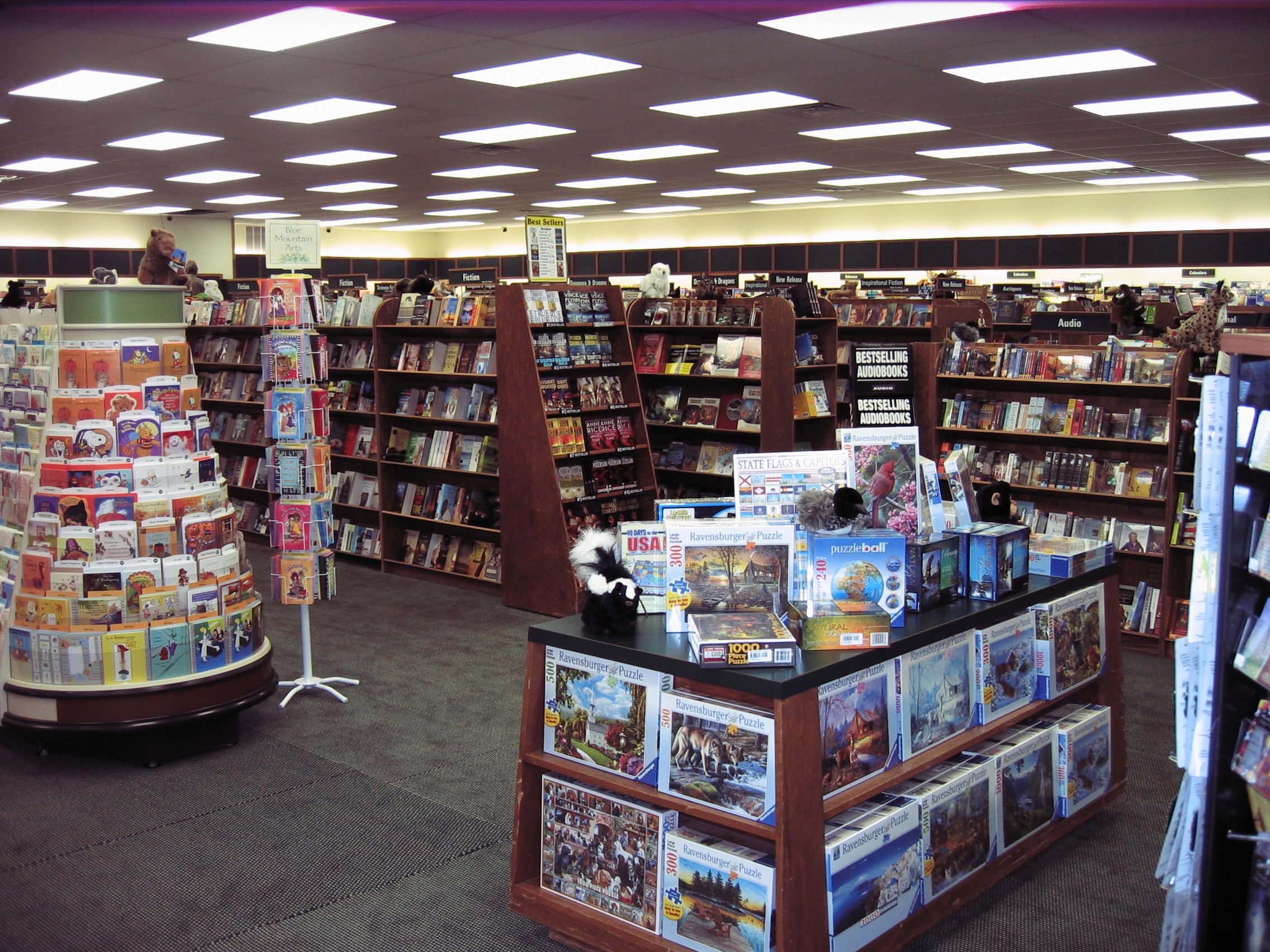 Locally Owned Book Store Paper Tiger Located On Main St Oshkosh