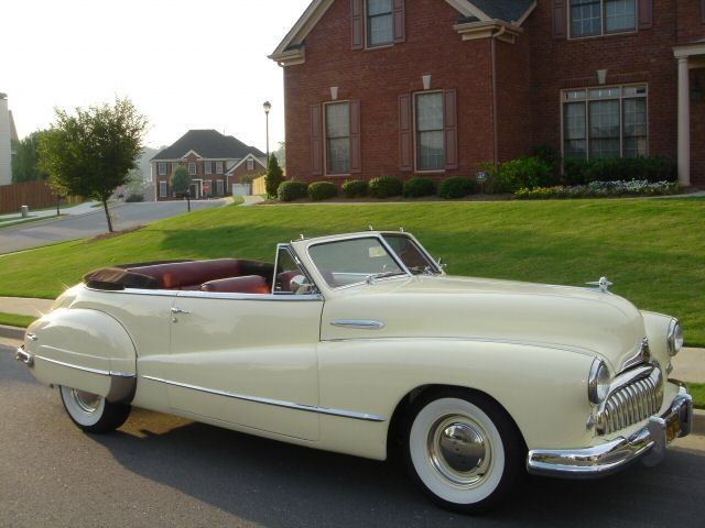 1947 Buick Super Eight Convertible Pictures Buick Buick Cars Retro Cars