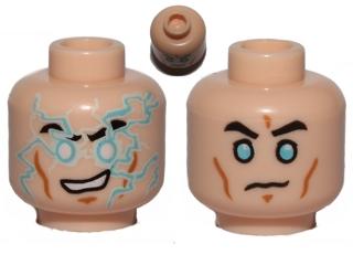 Teeth // Close Anakin Skywalker Cheek Lines LEGO Head Sunken Eyes Minifig