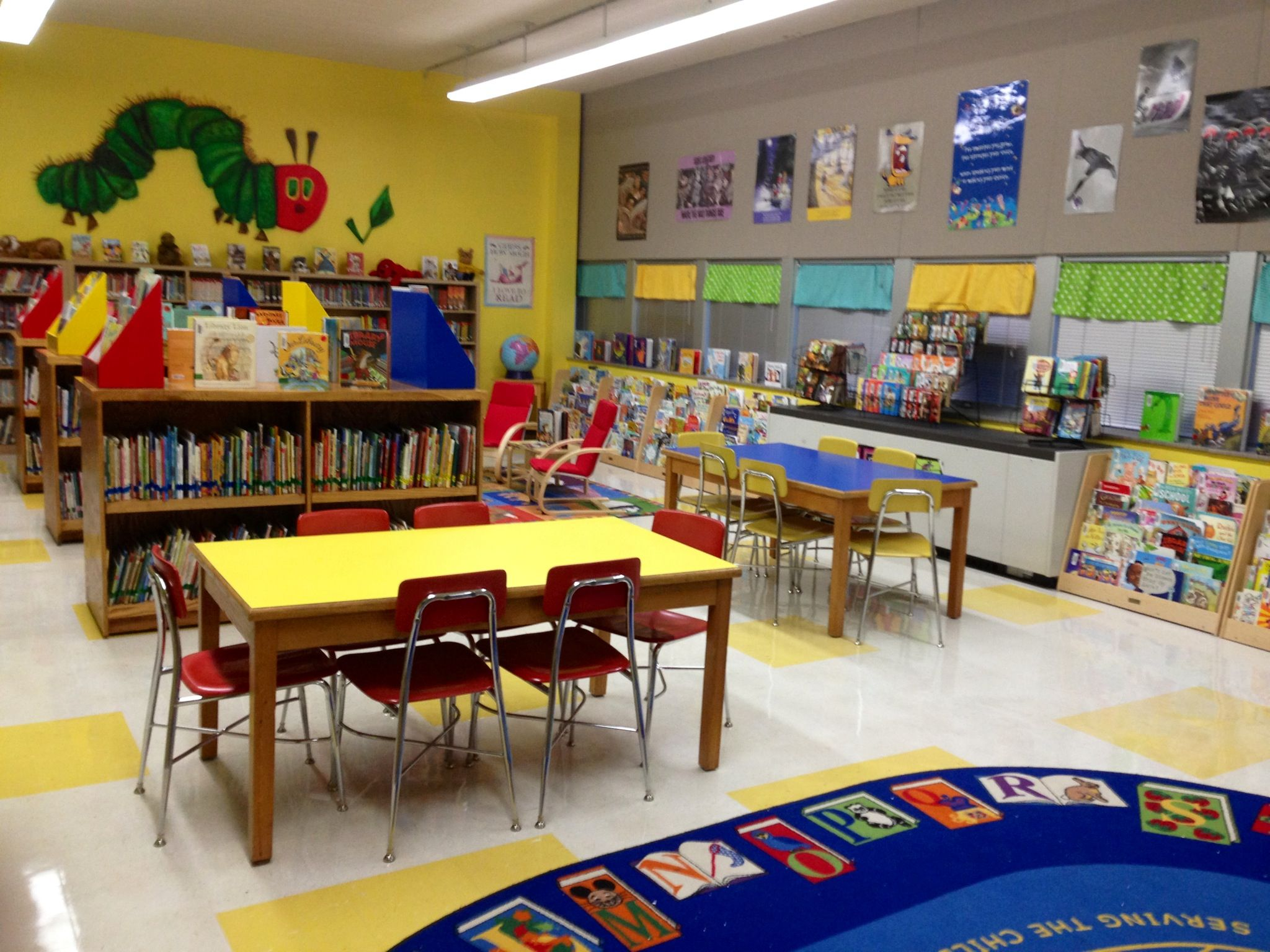 Elementary Library Decorating Ideas