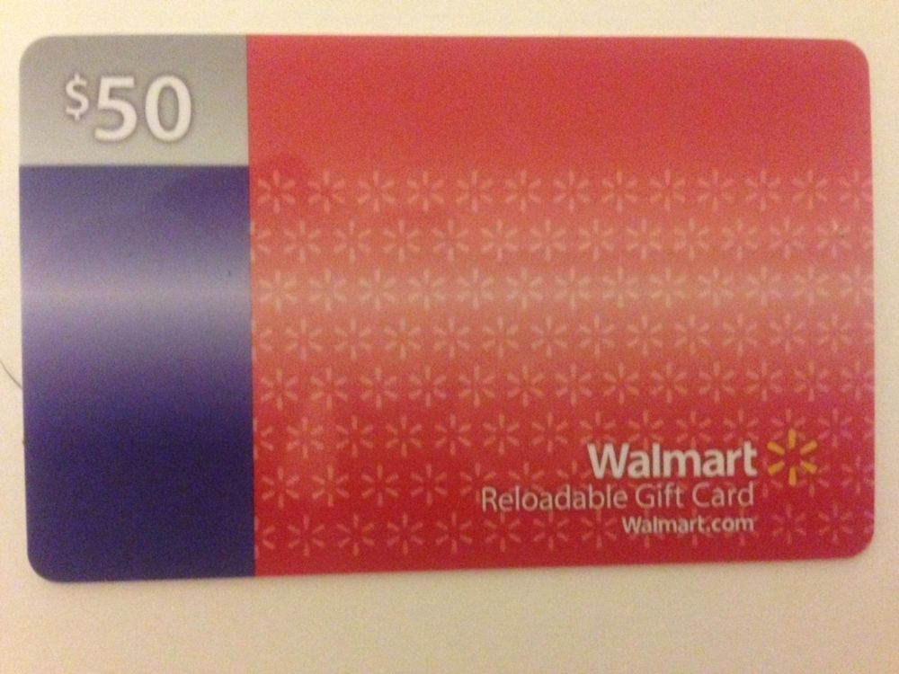 Check spelling or type a new query. $50 Walmart Gift Card (Reloadable) & Free Shipping | Walmart gift cards, Gift card, Gifts