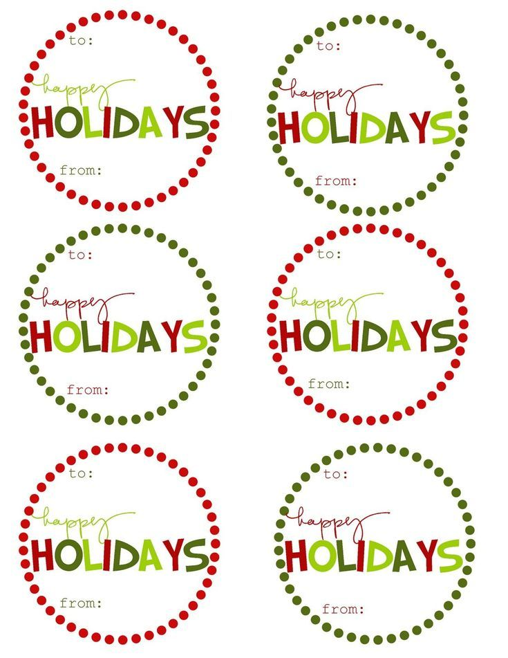 41 sets of free printable christmas gift tags free printable 41 sets of free printable christmas gift tags negle Gallery