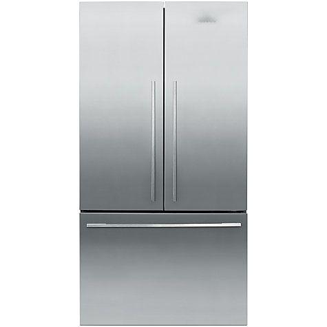 Fisher Paykel Rf610adx4 Freestanding 3 Door 60 40 Fridge Freezer Stainless Steel Fridge Freezers Fridge French Door Stainless Steel Doors
