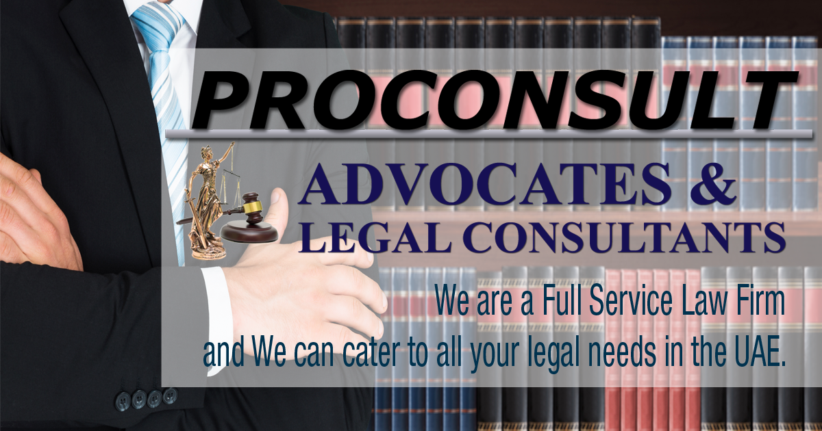 Uae Advocates Dubai Lawyers Proconsult Top Advocates Attorneys