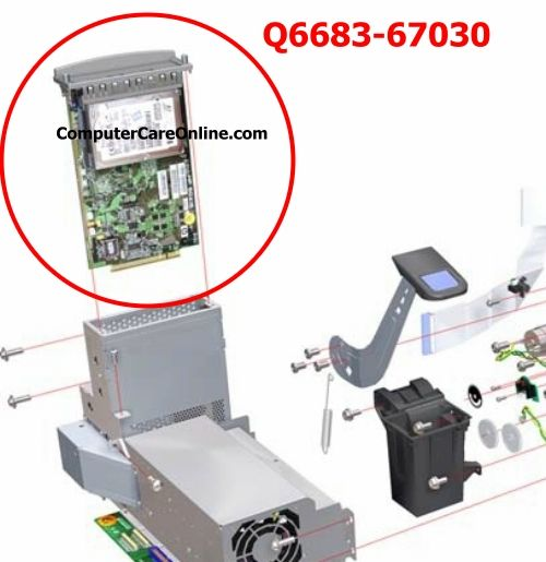 Cr647 67011 cr651 67006 hp designjet plotter main pca board new cr647 67011 cr651 67006 hp designjet plotter main pca board new hewlett packard board and box fandeluxe Images