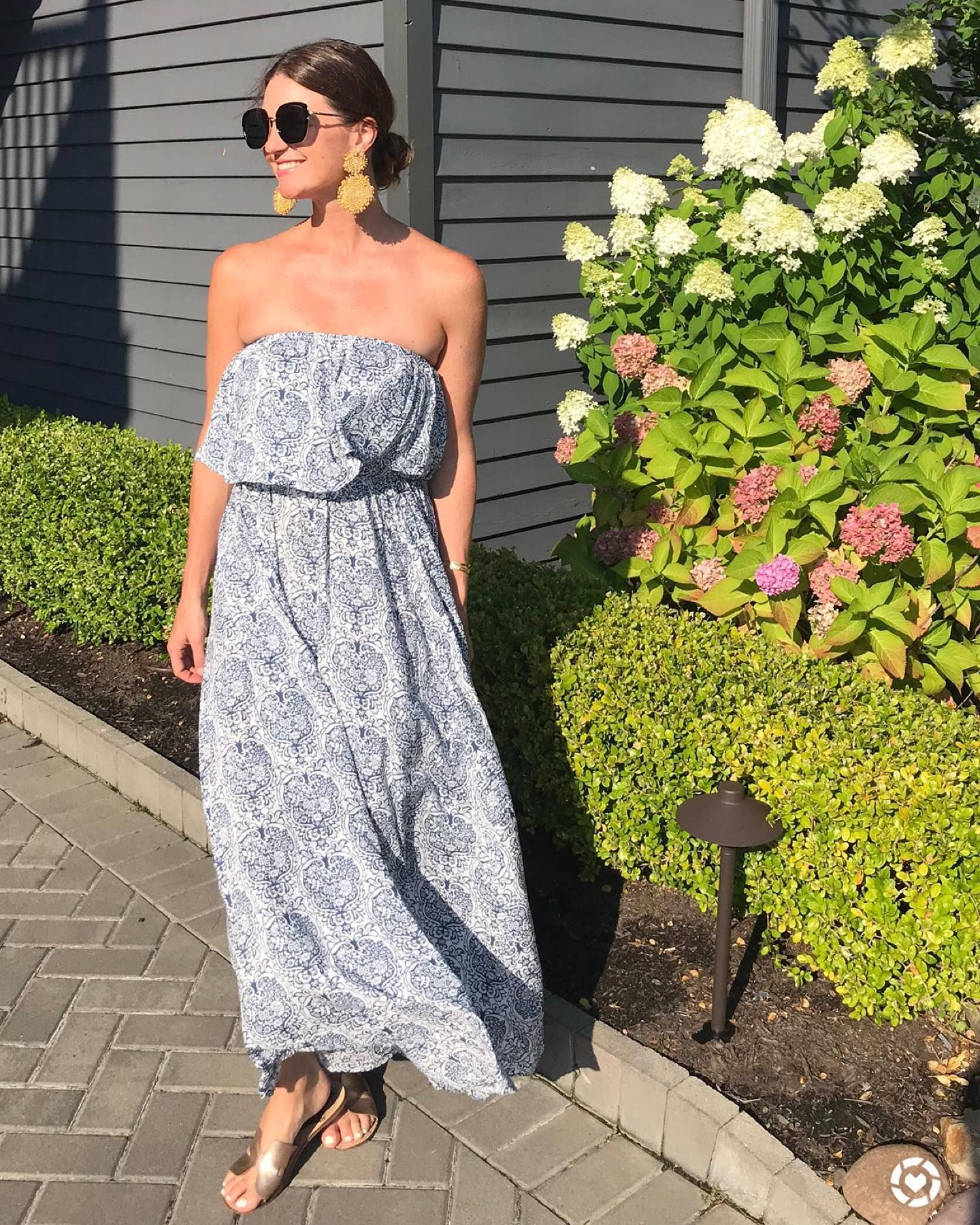 Amazon Maxi Dress Summer Style Summer Maxi Dress Summer Dresses Rainy Day Dress Outfit [ 1799 x 1440 Pixel ]