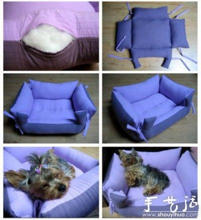 accessoires pour chiens et chats faire soi m me diy accessories for cats and dogs animaux. Black Bedroom Furniture Sets. Home Design Ideas