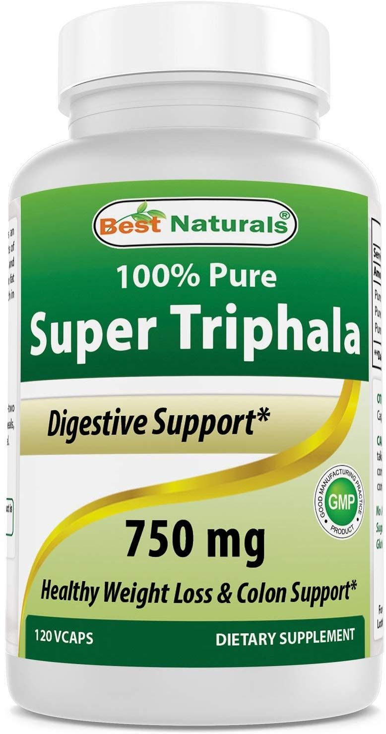 Best naturals triphala 750 mg 120 vcaps in 2020 natural