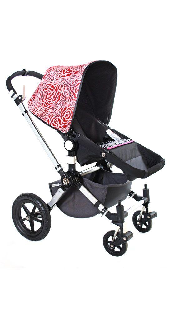 Cutie Pie Bugaboo Stroller Cover. Love the stroller, minus the zebra print inside.