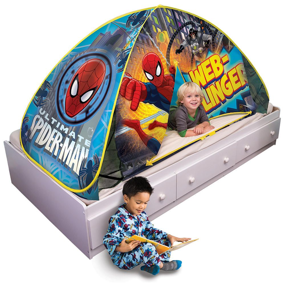 Spider Man 2 In 1 Bed Topper Amp Play Tent Jay Franco