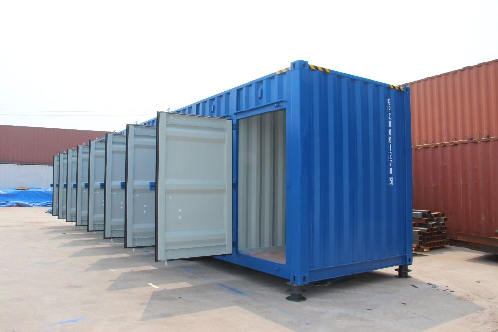 Pin By Qjt Company On Container Garages Workshops Shipping Container Storage Building A Container Home Container House