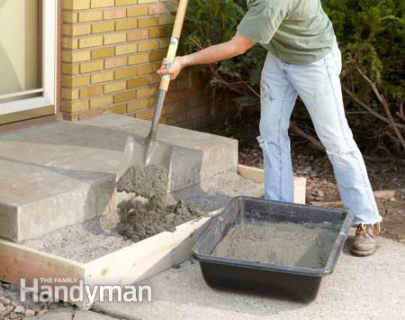 Best Repair Or Replace Pouring Concrete Steps Concrete 640 x 480