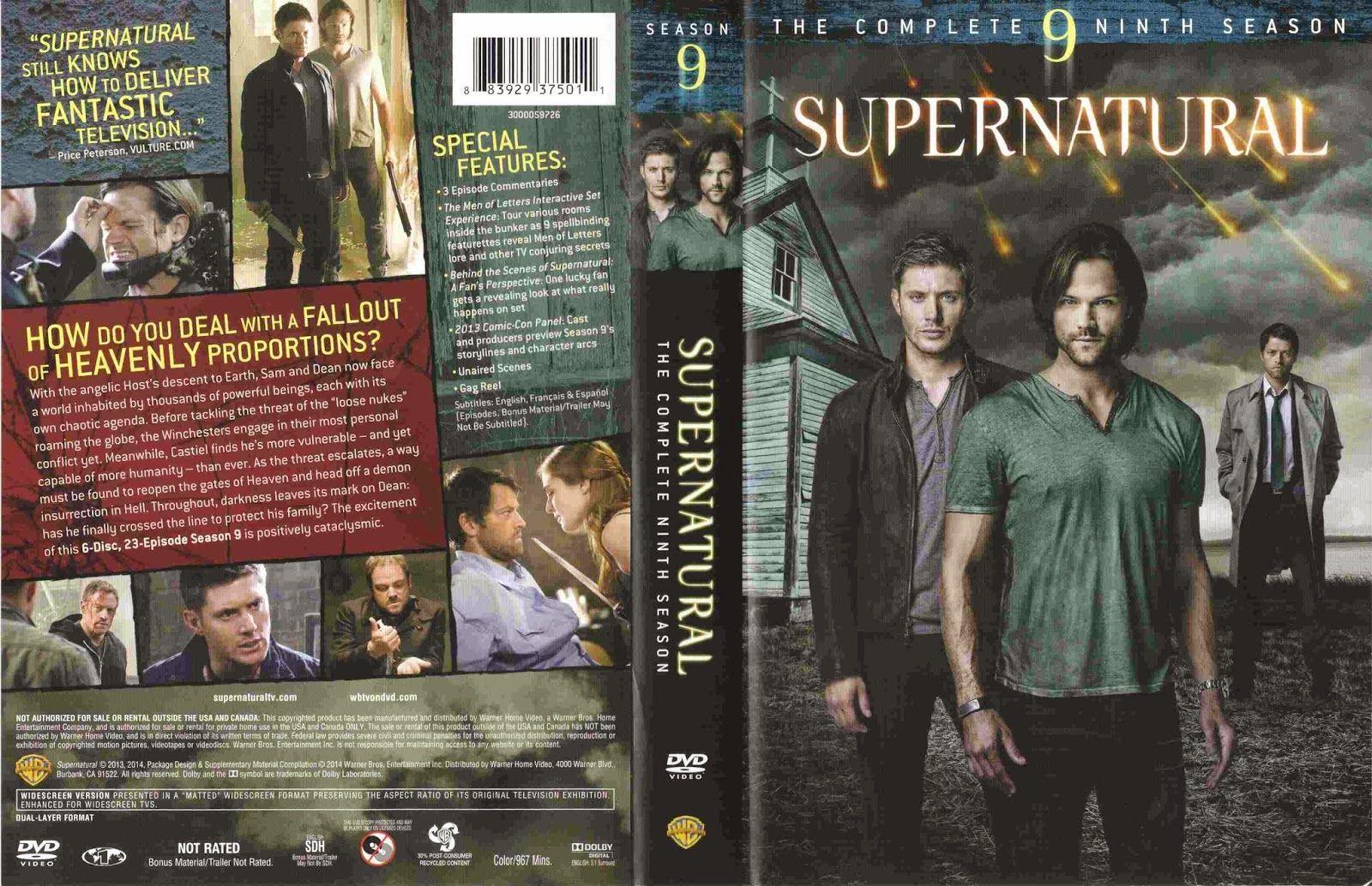 Season 9 Cover Supernatural Seasons Supernatural Supernatural Season 9