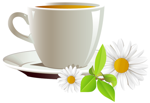 Cup Of Coffee And Daisies Png Clipart Coffee Png Coffee Cups Coffee Images