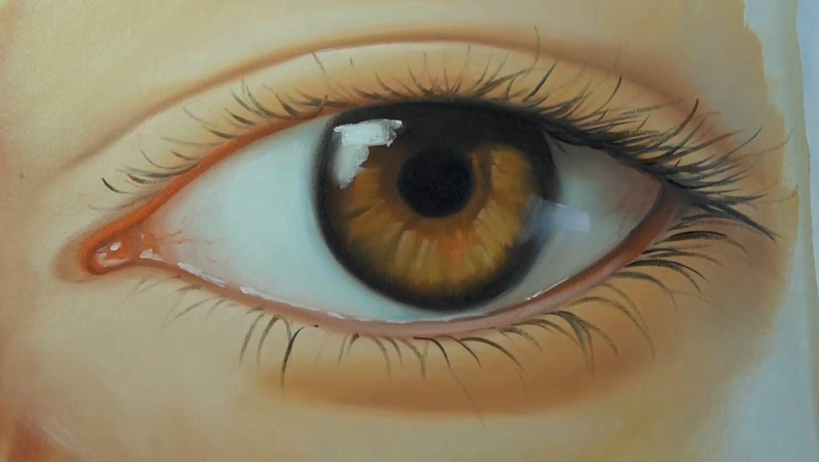 Como Pintar Olho Realista Olho Realista Pintura De Retrato