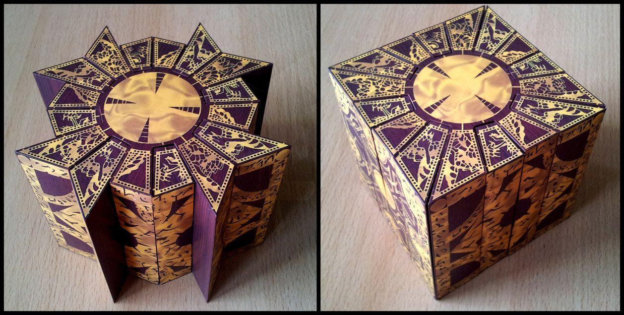 raiser Lemarchand Box Papercraft Lament Configuration ... on