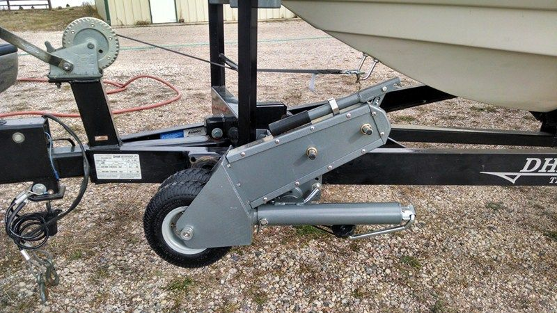 "Trailer Valet Swivel Jack and Trailer Mover - Topwind - 15"" Lift - 500 lbs Trailer Valet Trailer Jack STC-V211"