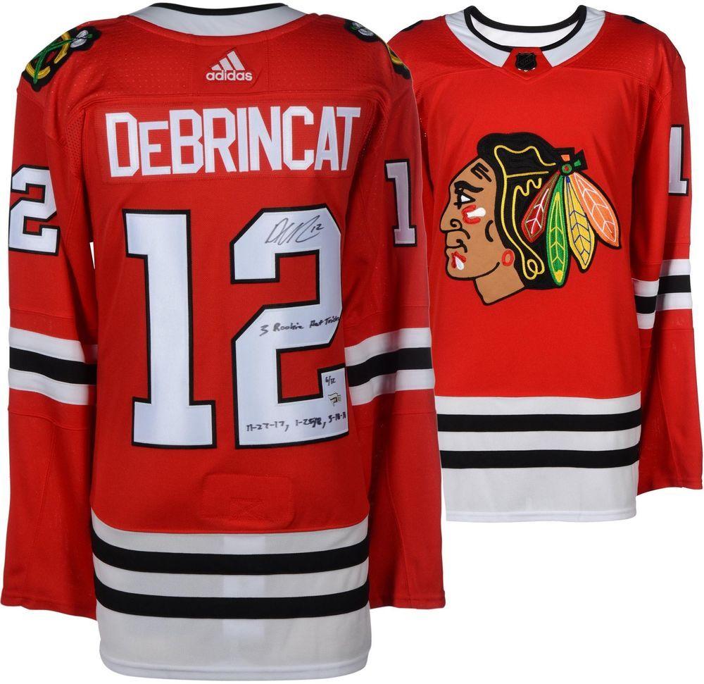 1a81eb56af3 Autographed Alex DeBrincat Blackhawks Jersey Fanatics Authentic COA Item  9023015