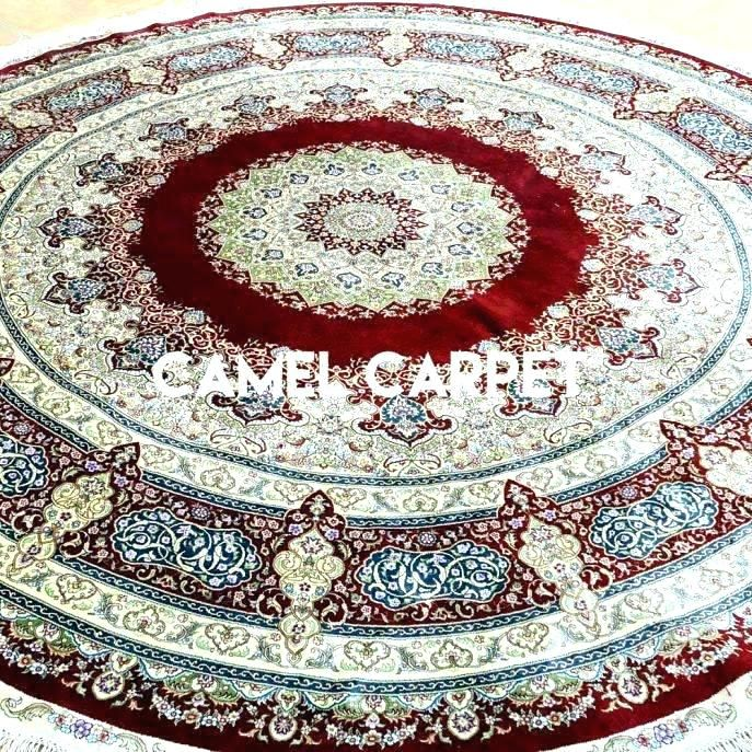 Super 6 Ft Round Area Rugs Graphics