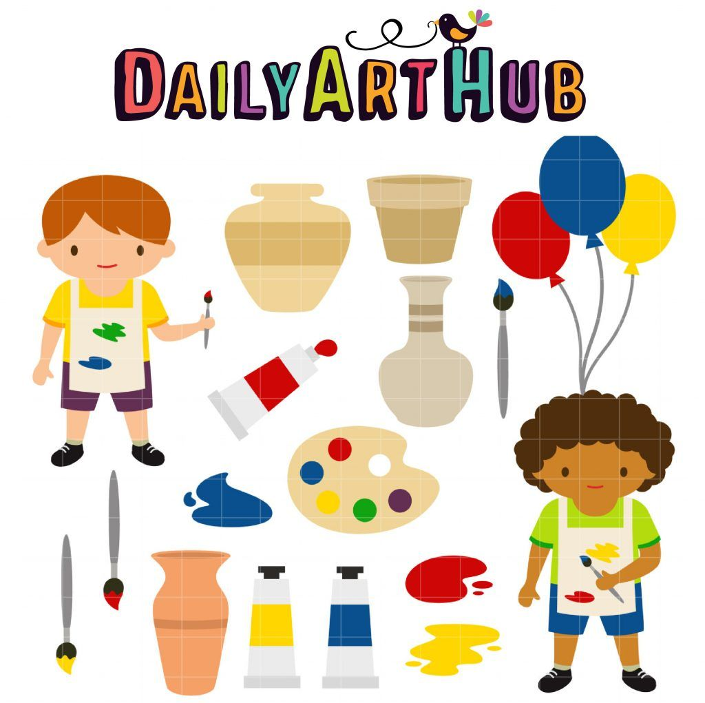 19+ Arts and crafts clipart free ideas