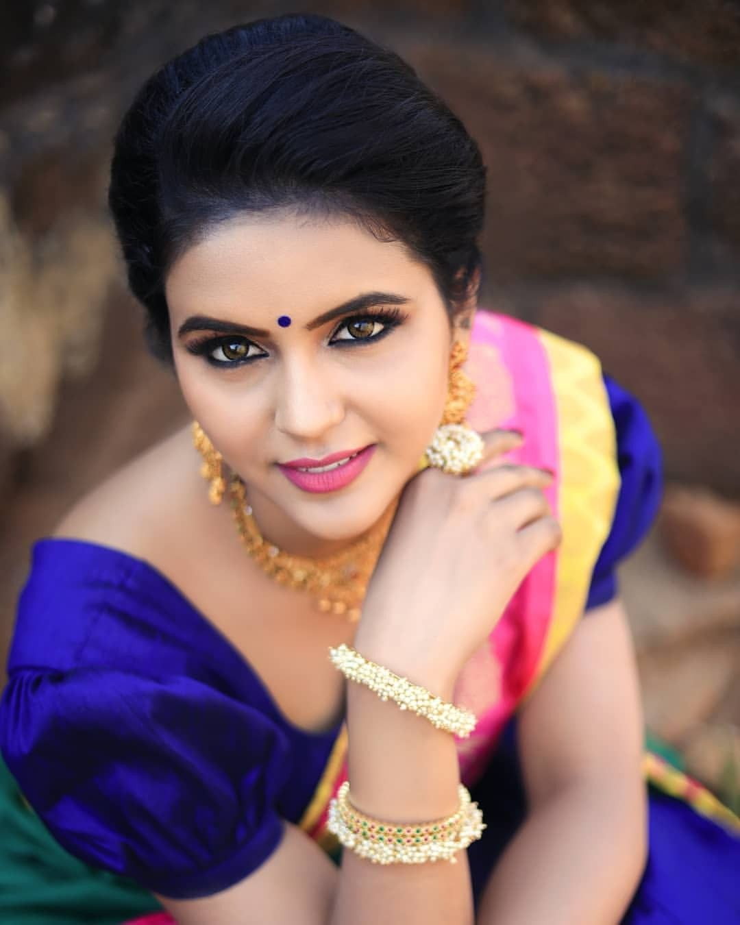Poove poochudava actress reshma reya cute expression