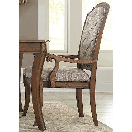 ... Liberty Furniture Amelia Dining RTA Upholstered Arm Chair At J U0026 J  Furniture   Your Mobile, Daphne, Tillmans Corner, Alabama Furniture U0026  Mattress Store