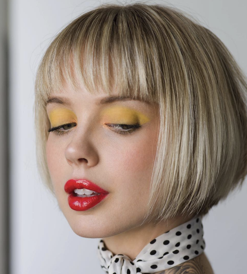 short angled bob | bobs in 2019 | bob hairstyles for fine