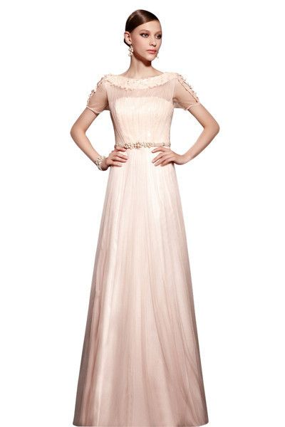 Chiffon Sleeves Evening Dress by Elliot Claire (30522) £395.00 ...