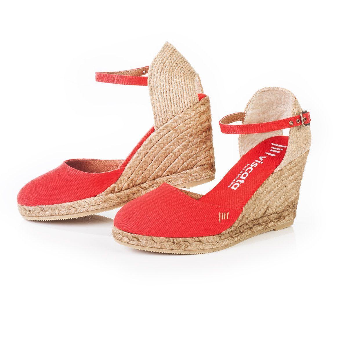dd63e614753c Red Espadrille Wedges for Women by Viscata