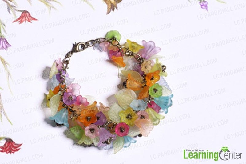 Do it yourself crafts field of flowers in spring bracelet do it yourself crafts field of flowers in spring bracelet pandahall solutioingenieria Images