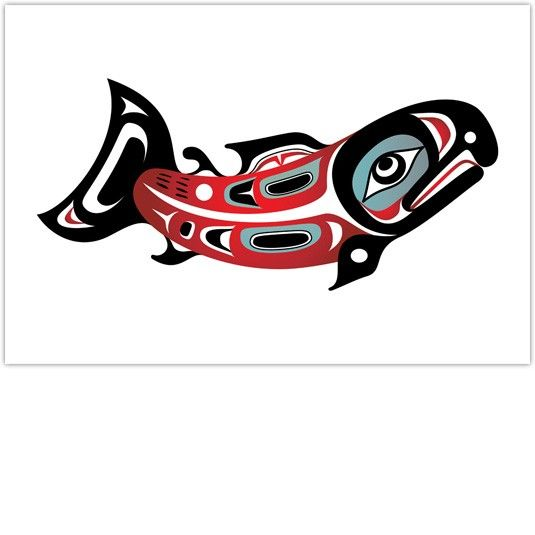 Native American Indian Art Shaun Peterson|Northern Salmon ...