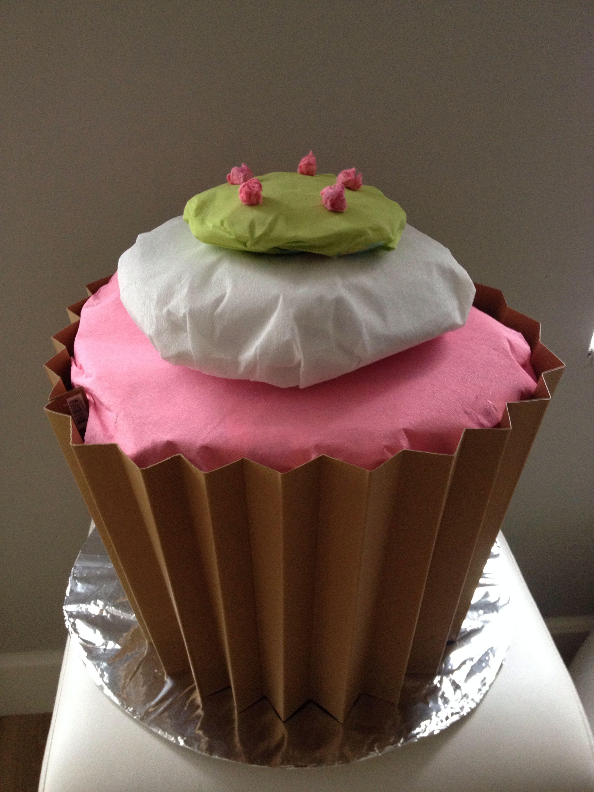 Mega Cupcake Als Sinterklaas Surprise Vulling Maken Van Proppen