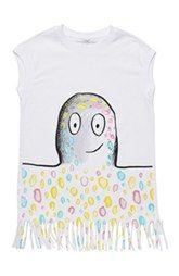 Stella McCartney Kids 'Joni' Fringe Dress (Toddler Girls, Little Girls & Big Girls)