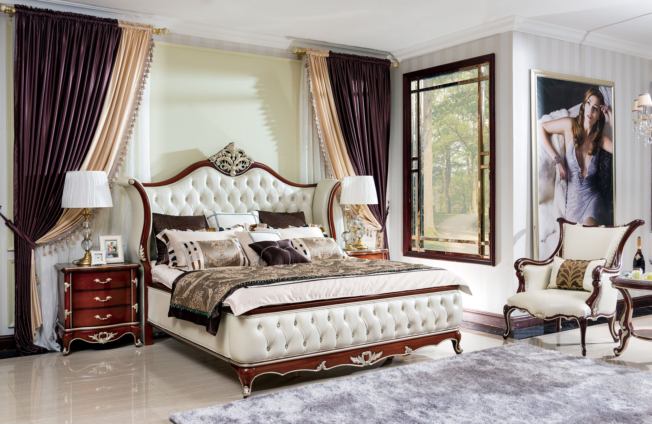 royal bedroom sets - HD2268×1474