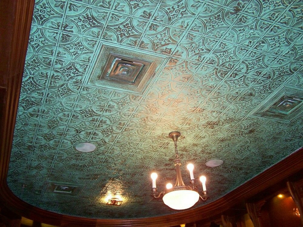 Foam Ceiling Tiles Painted Home Decorating Pinterest Ceiling
