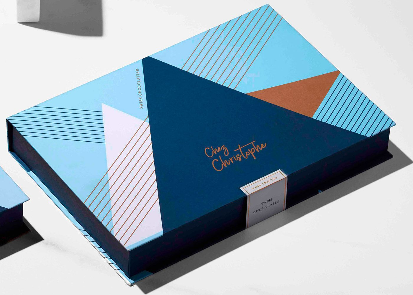 Chez Christophe Chocolates Packaging Design