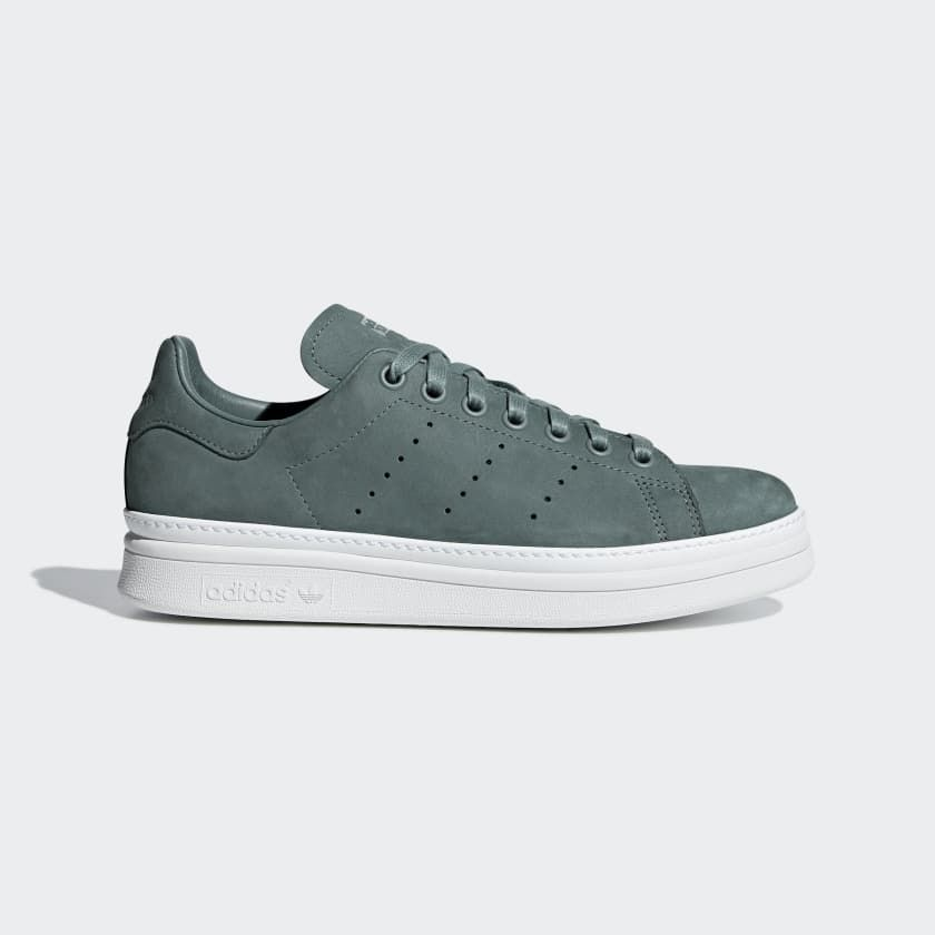 Stan Smith New Bold Shoes Green 6 Womens | style | Shoes