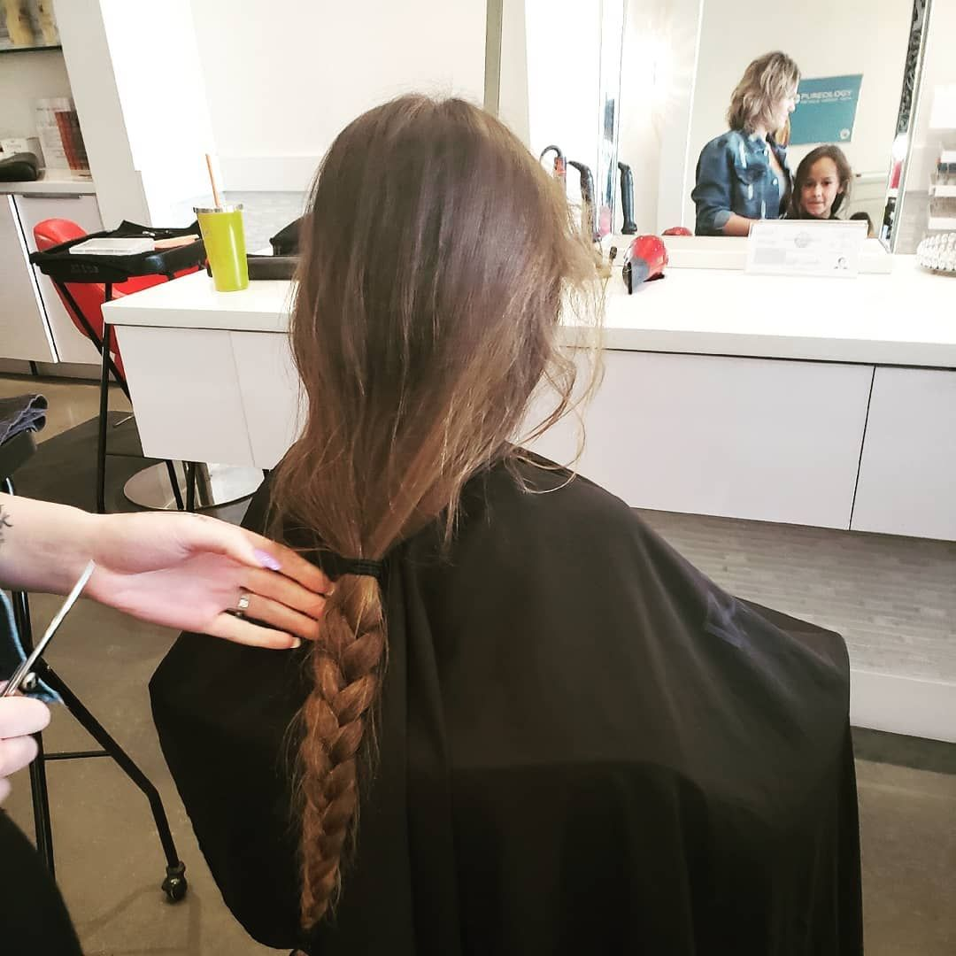 Donated 12 Inches Of Hair I Am Officially Tangle Free Brookemadison Donatehair Newhaircut Tanglefree Smart Donating Hair New Haircuts Short Hair Styles