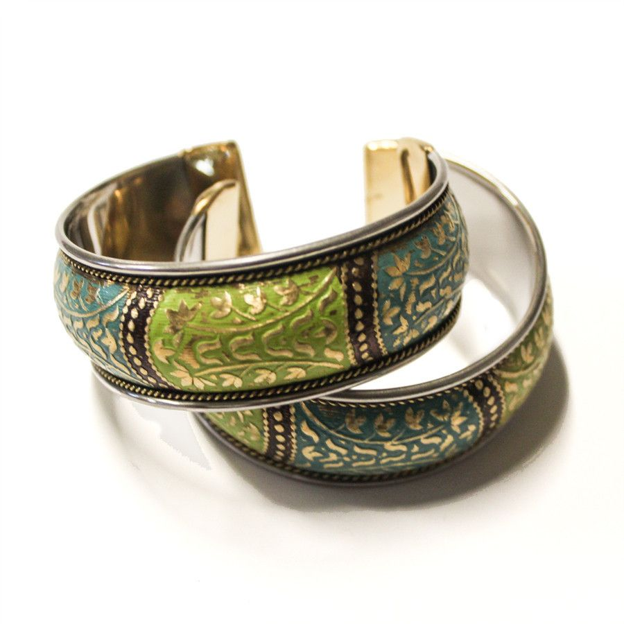 Bollywood cuff from india fairtrade globalgifts