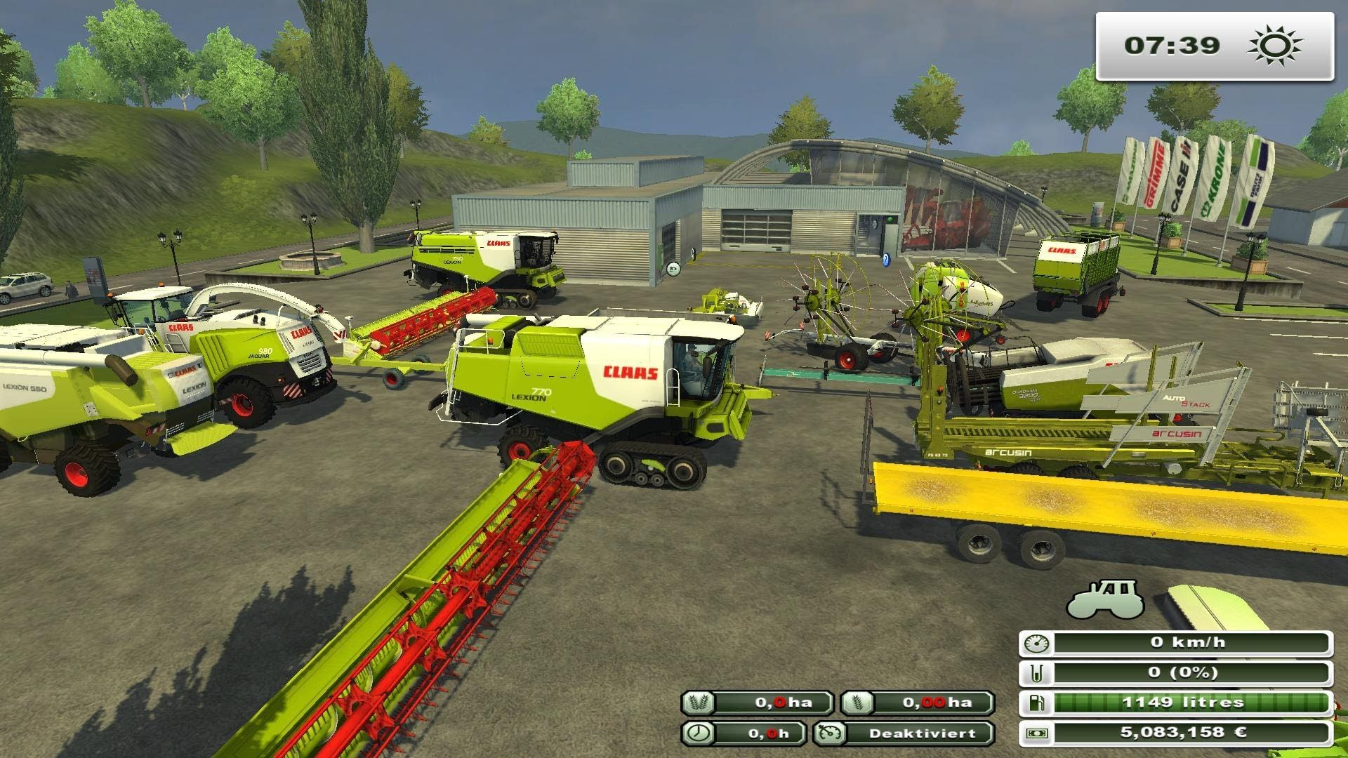 First thing about you think about farming simulator 15 is farming however it is important
