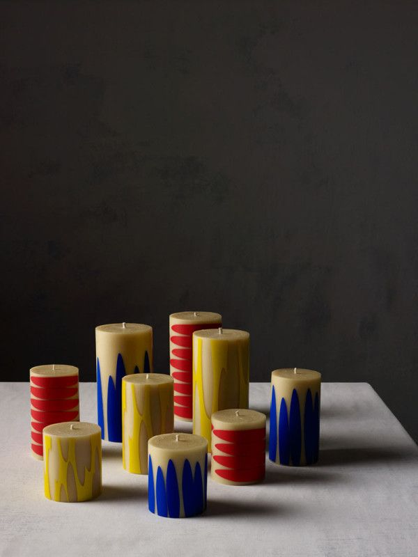 Atelier: A New Collection from Dinosaur Designs. Not sure I could burn these candles.