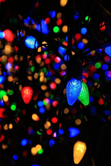 Colorful Christmas Lights Aesthetic.Colorful Lights Aesthetic Stranger Things Pinterest