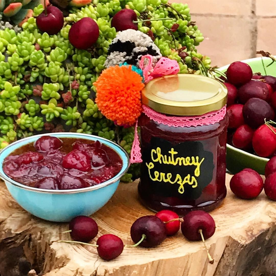 Chutney de cerezas perfecto para carnes como el pavo - Como cocinar judias verdes frescas ...