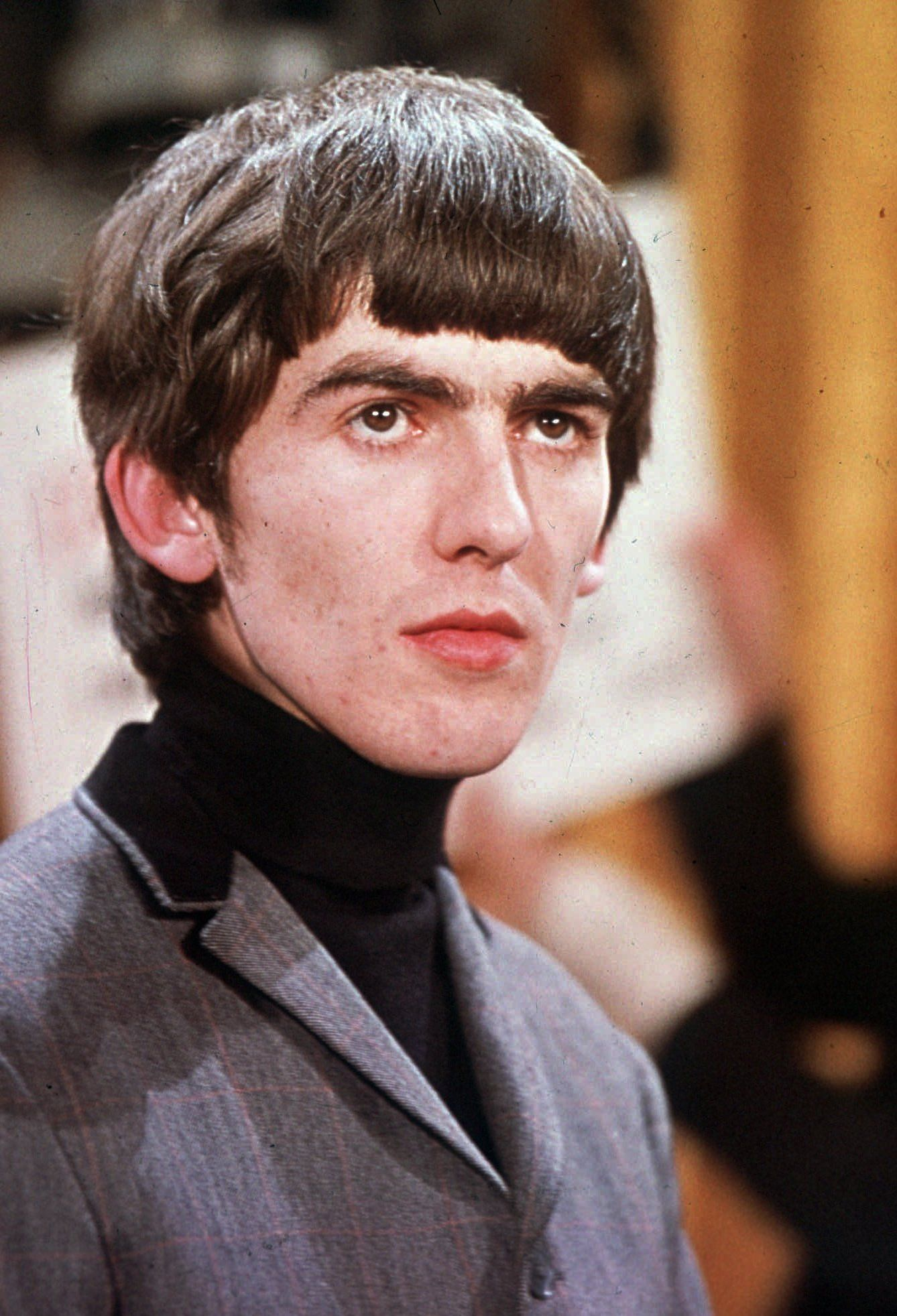 George Harrison is shown in this 1964 photo. (AP Photo)
