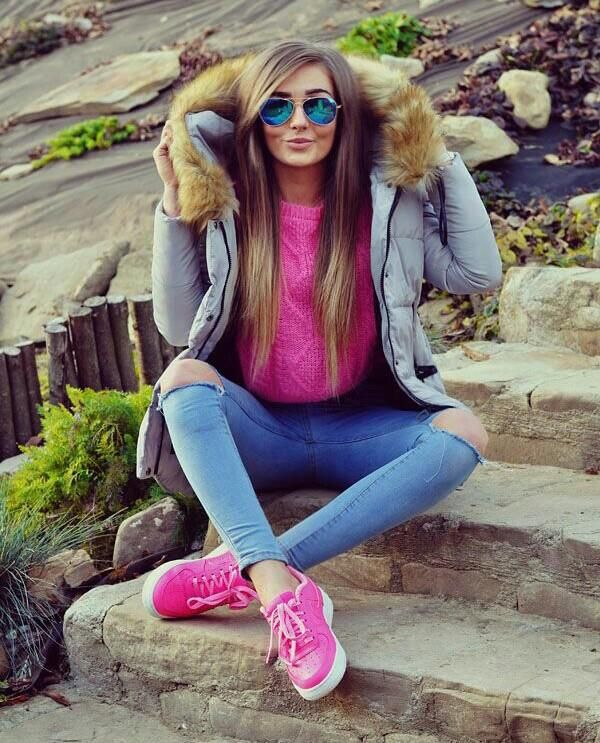 perfect outfit casual mujer frio 11