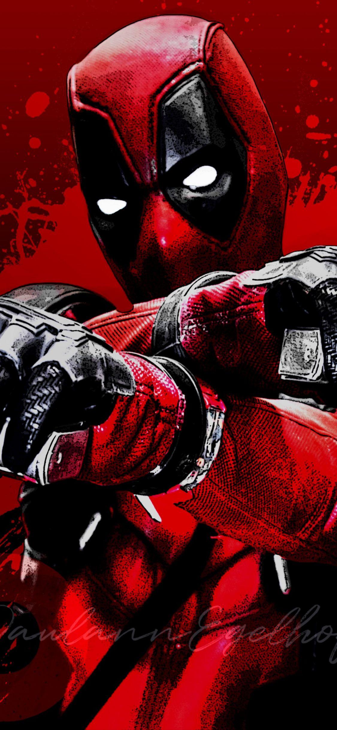 1125x2436 Fictional Character Superhero Movie Deadpool Film Graphics Wallpaper For Iph Deadpool Wallpaper Deadpool Wallpaper Iphone Marvel Comics Wallpaper
