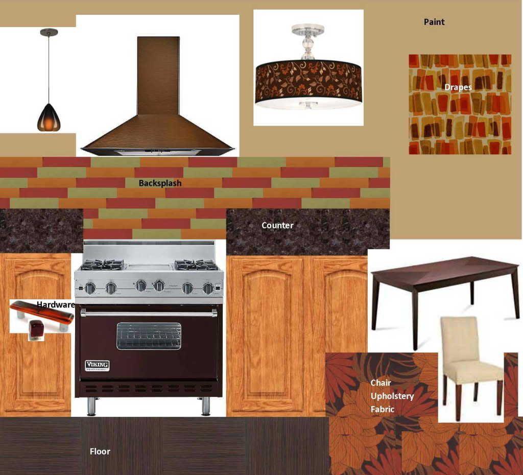 Golden Oak Kitchen Cabinets: Design Around: Warm Earth Tone Kitchen. Now That I've Seen