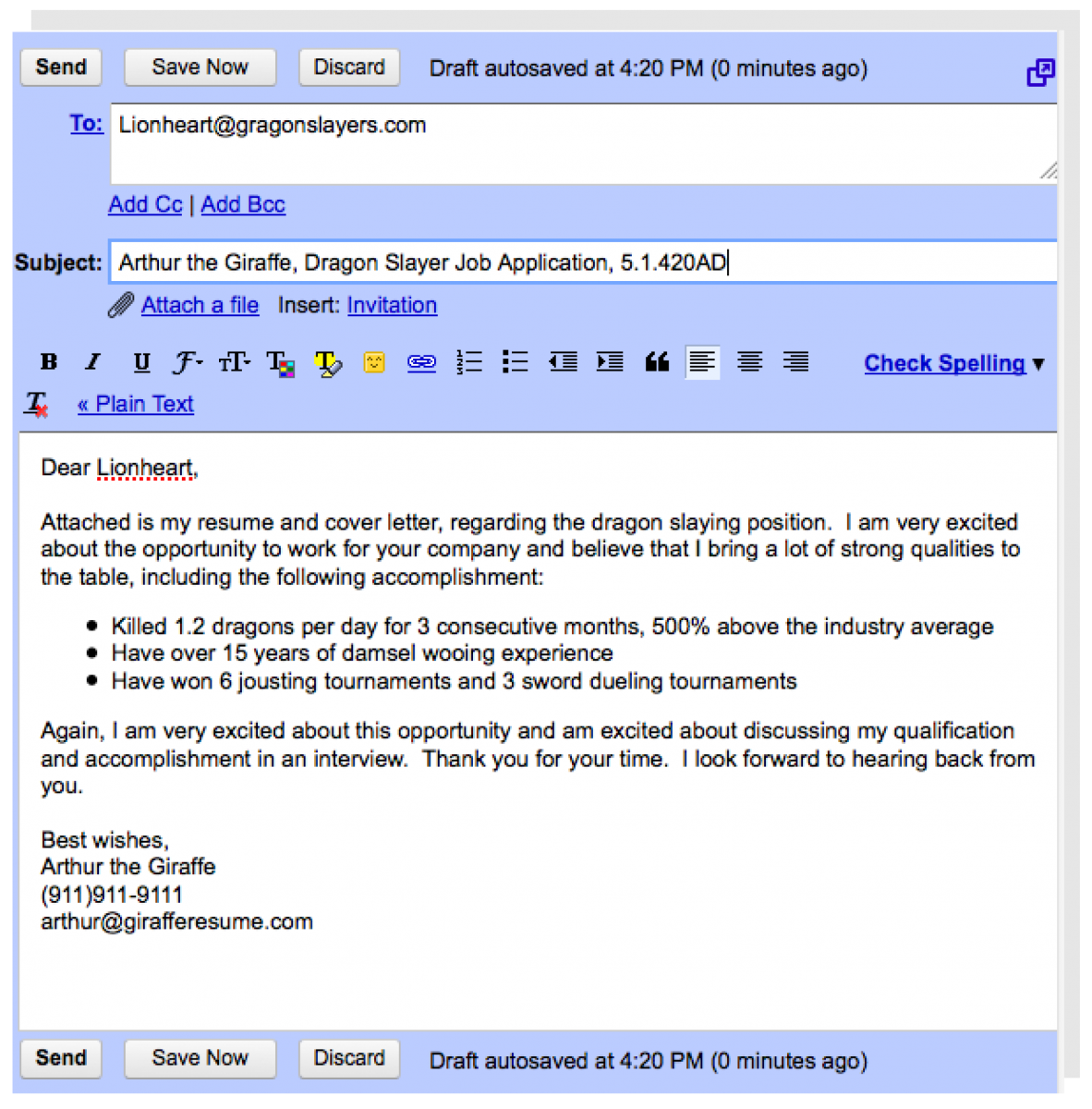 Writing an Email Resume and Email Cover Letter | REAL WORLD WISDOM ...